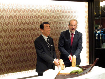 スペインのサラマンカ大学学長が表敬訪問