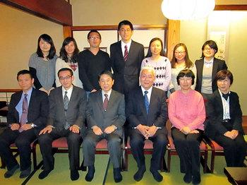 中国国家外国専家局研究生の修了式・送別会