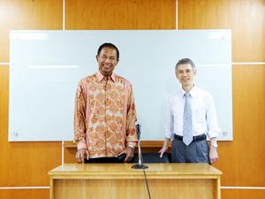 ラフマット・ゴーベル商業大臣と親交を深める 新たな分野での協力関係 ...