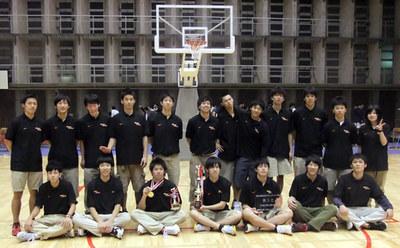 バスケットボール部メンバー