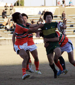 大松選手(右)