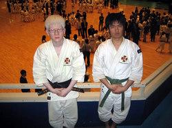 穂谷選手(左)・安田選手(右)