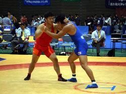 横澤選手(左)