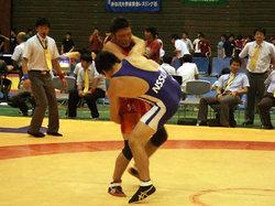 赤熊選手(左)