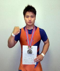 準優勝の菅野選手