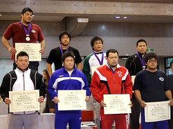 村木選手(後列右端)