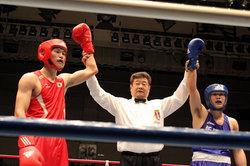 拓大ボクシング部の先輩・後輩のエキシビジョン勝敗なし