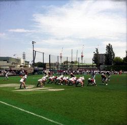 2013年川崎ボウル 早稲田大学戦 34-27で勝利