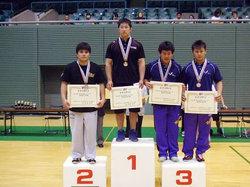 優勝の前田選手