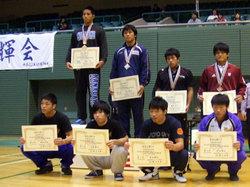 藤原選手(後列右から2番目)