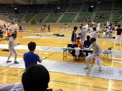 写真右:櫻井選手